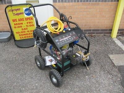 Diesel Pressure Washer 250bar Electric Start 15 LPM Diesel Pressure Washer 2016