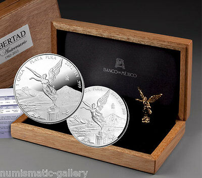 Mexico 2012 Silver Premium 30Th Anniversary Of The Libertad Set - 1,500 Sets