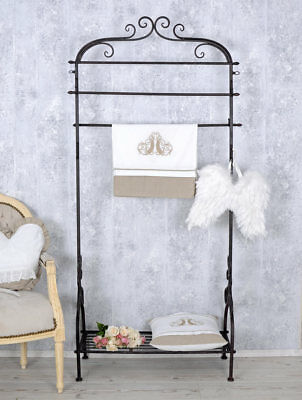 standgarderobe weiss garderobe shabby chic flurgarderobe kleiderst nder eur 99 00 picclick de. Black Bedroom Furniture Sets. Home Design Ideas