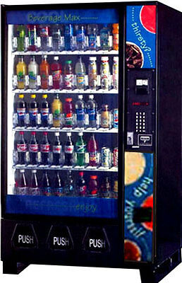 1Dixie Narco 5591 Bev Max Soda Pop, Monster, Water, Coke, Drink Vending Machine