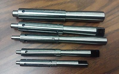 "Precision Expanding Mandrel Set 1/2""-1"", 5 mandres & 5 sleeves Part#:ML1/2-1-new"