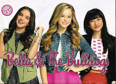 """BELLA AND THE BULLDOGS - BREC BASSINGER - 11"""" x 8"""" - MAGAZINE PINUP - POSTER"""
