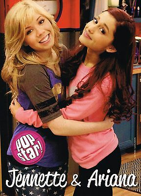 "JENNETTE McCURDY & ARIANA GRANDE SAM & CAT - BEA MILLER - 11"" x 8"" PINUP POSTER"