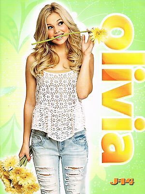 "OLIVIA HOLT - AUSTIN MAHONE - GREAT CLOSE-UP - 11"" x 8"" MAGAZINE PINUP - POSTER"