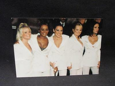 "Spice Girls All 5 in White Suits Color 4X6"" Photograph AGFA #32676Y"