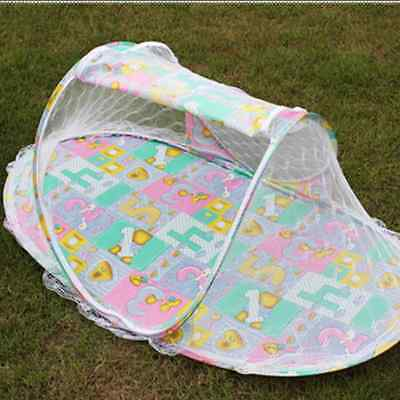 Portable  Baby Mosquito Nets With Stand Bottomed Baby Bed Collapsible