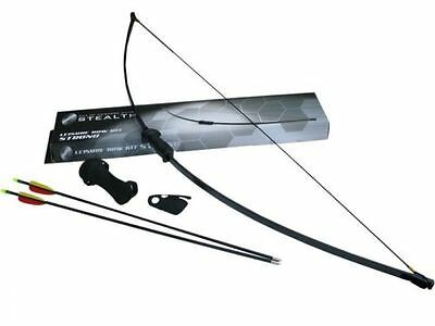 stealth adult archery bow kit 2 piece (medium)