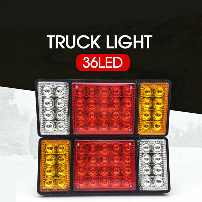 12V 36LED Tail Lights Rear Ute Trailer Caravan Truck Boat Car Indicator Lamp