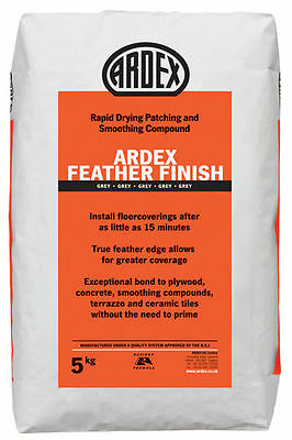 ARDEX Feather Finish Rapid Drying Patching and Smoothing Compound 5kg