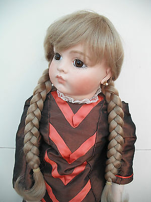 Dolls Blonde Wig With Plaits Kate 15-16