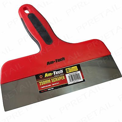 """10"""" WIDE HEAVY DUTY SCRAPER +EXTRA LARGE+ Wallpaper/Paint Remover/Stripper Tool"""