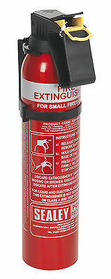 SDPE009D Sealey 0.95kg Dry Powder Fire Extinguisher - Disposable
