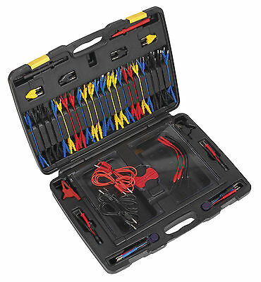 TA111 Sealey Test Lead Kit 90pc [Electrics] Diagnostic Tools Testers, Circuit