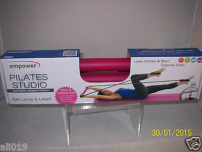 Empower Pilates Studio Portable Trainer with Long & Lean Workout DVD Video