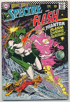 Brave & the Bold #72 (1967) Very Good (4.0) ~ DC ~ Signed by Murphy Anderson