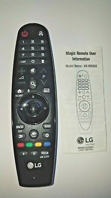 New LG AN-MR650 Magic Remote Control w/ Voice Mate™ for Select 2016 Smart TVs