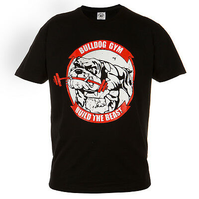 T-Shirt Mma Buldog Gym Ideal For Gym Mma Training Fighters Sport Casual Wears