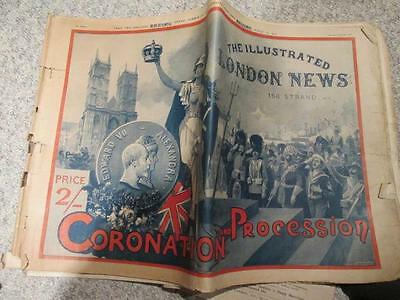Coronation & Procession 1902 King Edward VII Illustrated London News
