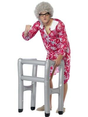 Inflatable Zimmer Frame Gravity Granny Stag Night Fancy Dress Accessory