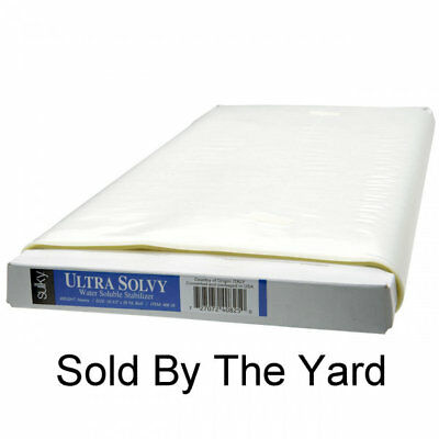 """Sulky Ultra Solvy Firm & Stable Water Soluble Stabilizer 20"""" By The Yard"""