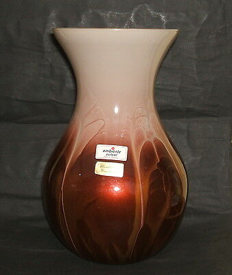 GERMANY AMBIENTE ZWIESEL Mouthblown Handmade Gl vase. - £6.50 ... on
