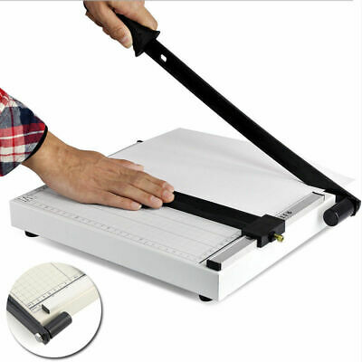 Portable A4 To B7 Paper Photo Cutter Trimmer Knife Metal Base Safe Easy Use AU
