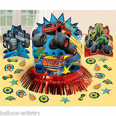 23 Piece Blaze & The Monster Machines Children's Party Table Decorating Kit
