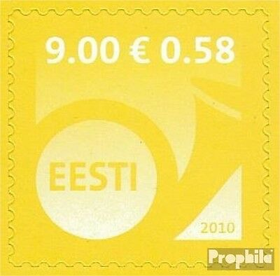 Estonia 670 (complete.issue.) unmounted mint / never hinged 2010 Horn