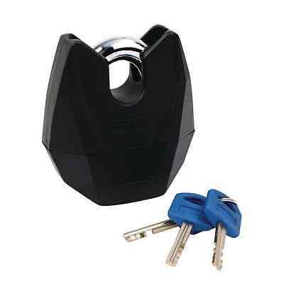 New Oxford Motorcycle Bike Ultra-Strong Monster XL 16mm Shackle Padlock Black