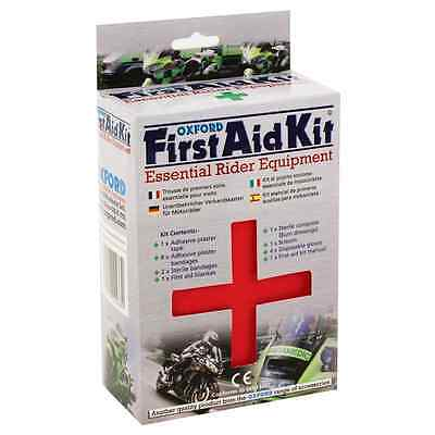 New Oxford Motorcycle Bike CE Approved Underseat Rider Equipment First Aid Kit