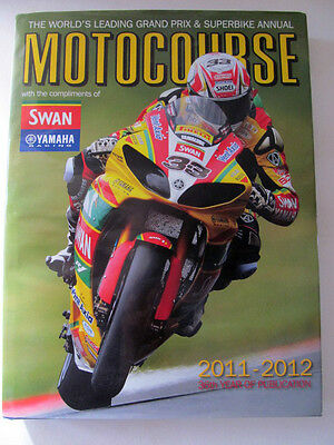 Motocourse 2011 2012   A Very Rare Dust Jacket Edition World's Leading Superbike