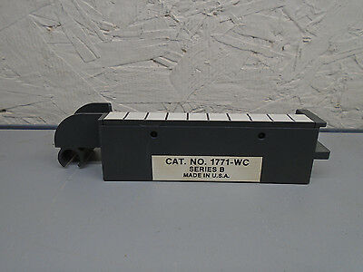 1771-WC Allen Bradley PLC 5 Terminal strip with gold plated terminals 1771WC W10