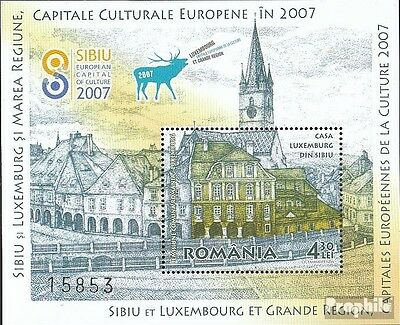 Romania Block409 (complete.issue.) unmounted mint / never hinged 2007 Kulturhaup