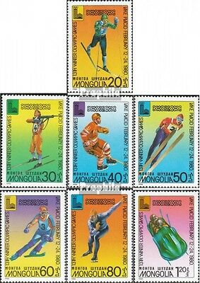 Mongolia 1271-1277 (complete.issue.) unmounted mint / never hinged 1980 Olympics
