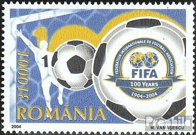 Romania 5837 (complete.issue.) unmounted mint / never hinged 2004 100Jahre FIFA
