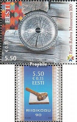 Estonia 635,636 (complete.issue.) unmounted mint / never hinged 2009 Tallinn, Pa