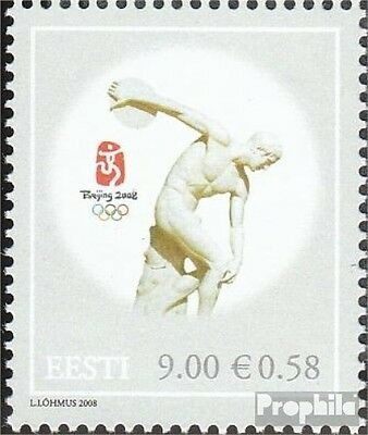 Estonia 620 (complete.issue.) unmounted mint / never hinged 2008 Olympia