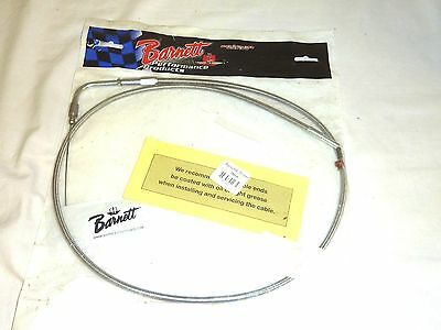 Barnett - 102-30-40012-06 - Stainless Clear-Coated Idle Cable (+6in.)