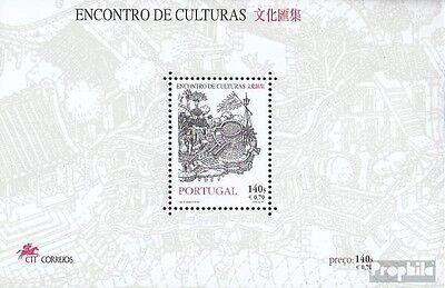 Portugal block157 (complete.issue.) unmounted mint / never hinged 1999 Macao - m