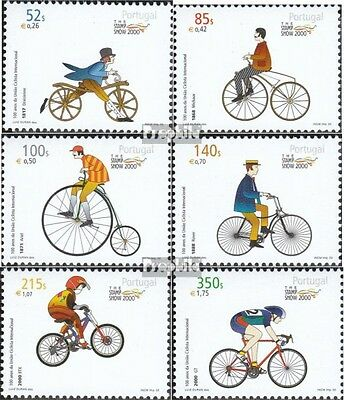 Portugal 2432-2437 (complete.issue.) unmounted mint / never hinged 2000 Stamp Ex
