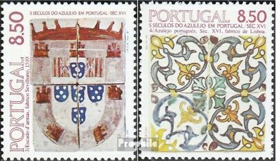 Portugal 1539,1548 (complete.issue.) unmounted mint / never hinged 1981 tiles in