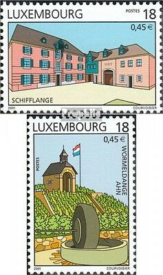 Luxembourg 1524-1525 (complete.issue.) unmounted mint / never hinged 2001 attrac