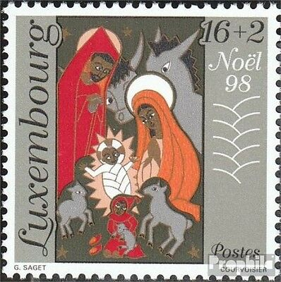 Luxembourg 1464 (complete.issue.) unmounted mint / never hinged 1998 christmas