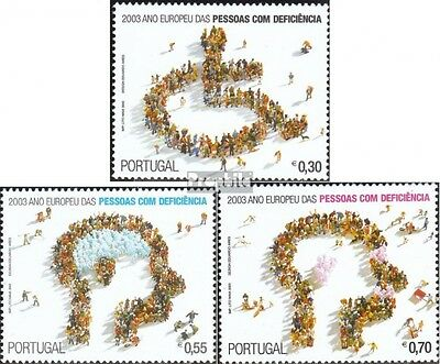 Portugal 2650-2652 (complete.issue.) unmounted mint / never hinged 2003 Year the