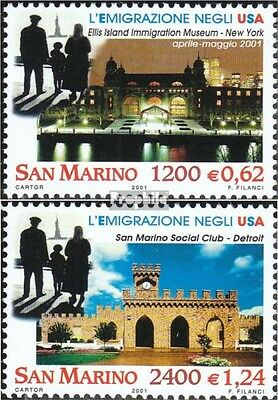 San Marino 1952-1953 (complete.issue.) unmounted mint / never hinged 2001 Emigra