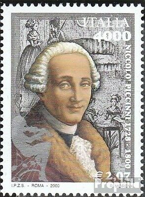 Italy 2699 (complete.issue.) unmounted mint / never hinged 2000 Niccolo Piccinni