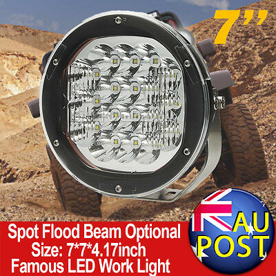 "5"" 60W CREE LED Work Driving Light Spot Beam Offroad ATV SUV 4WD REPLACE HID"