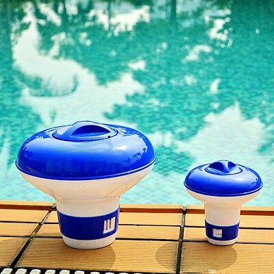 Chemical Floater Swim Pool Spa Chlorine Dispenser Cleaner Tablets Tabs Floating