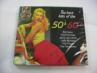 The Best Hits Of The 50'S/60'S - 2Cd New Sealed 2007 - Jerry Lee Lewis