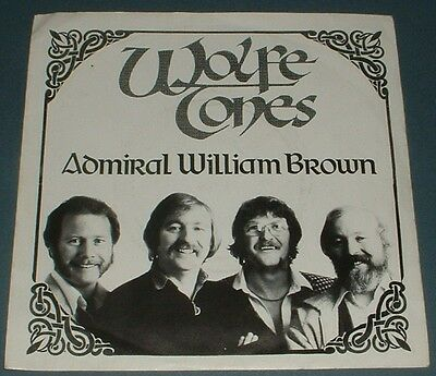 WOLFE TONES admiral william brown 1982 IRISH TRISKEL PS 45